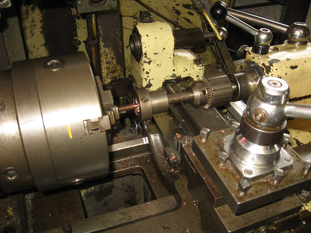Tailstock Die Holder