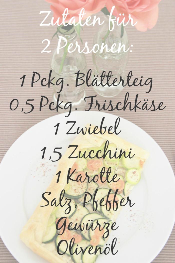 Gesundes_Essen_Healthy_Food Zucchini_Blätterteig_Ecken_Rezept 02 Zutaten