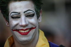joker, face, head, costume,