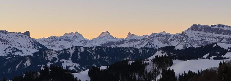 Lighted Mountains - Rämisgummen