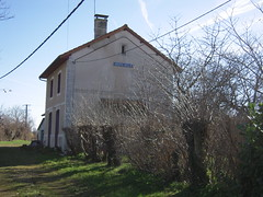 ANCIENNE GARE D'ASNIERES NEUILLAC - Photo of Douzat