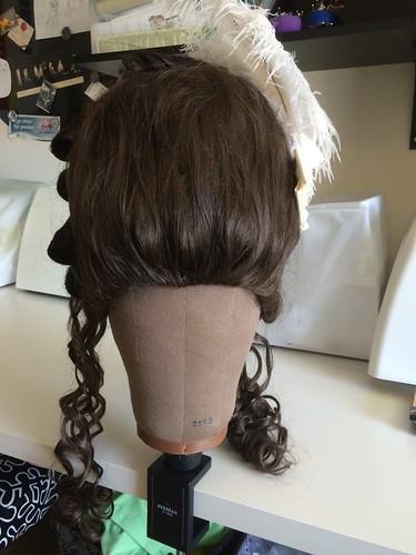1770s Wig