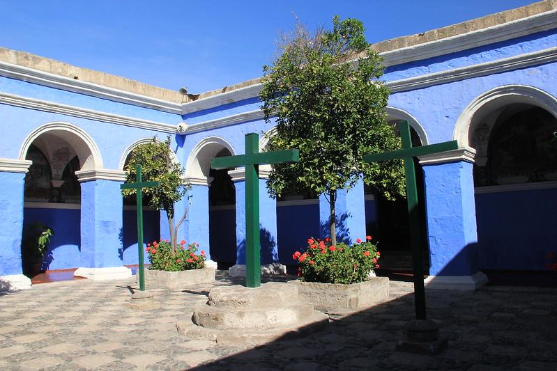Claustro los Naranjos, Santa Catalina