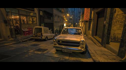 Alley / Lane of Central, Hong Kong