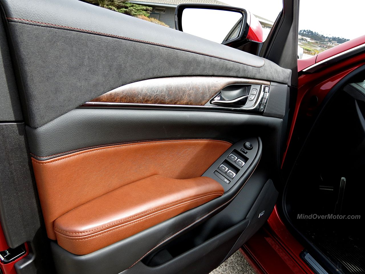 Cadillac CTS Vsport Wood Trim