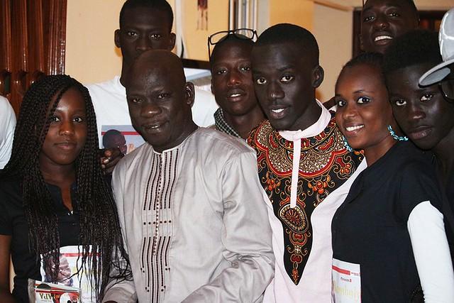 Bambaly en compagnie de son père Kéba-BorderMaker