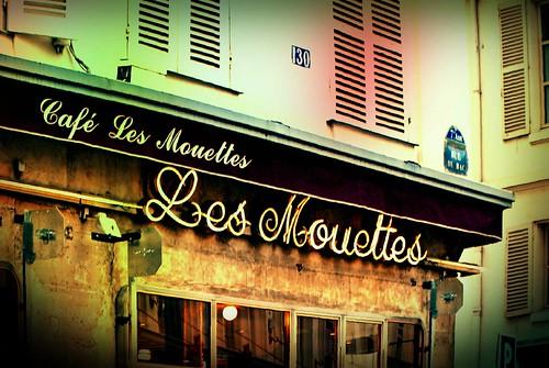 Café Les Mouettes   Rue du Bac   PARIS 7e