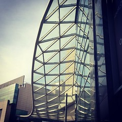 A little #architecture in the #sunshine at #Westfield #west #London #UK today