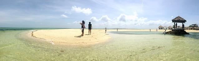 island hopping near mactan cebu pandanon kawhagan and