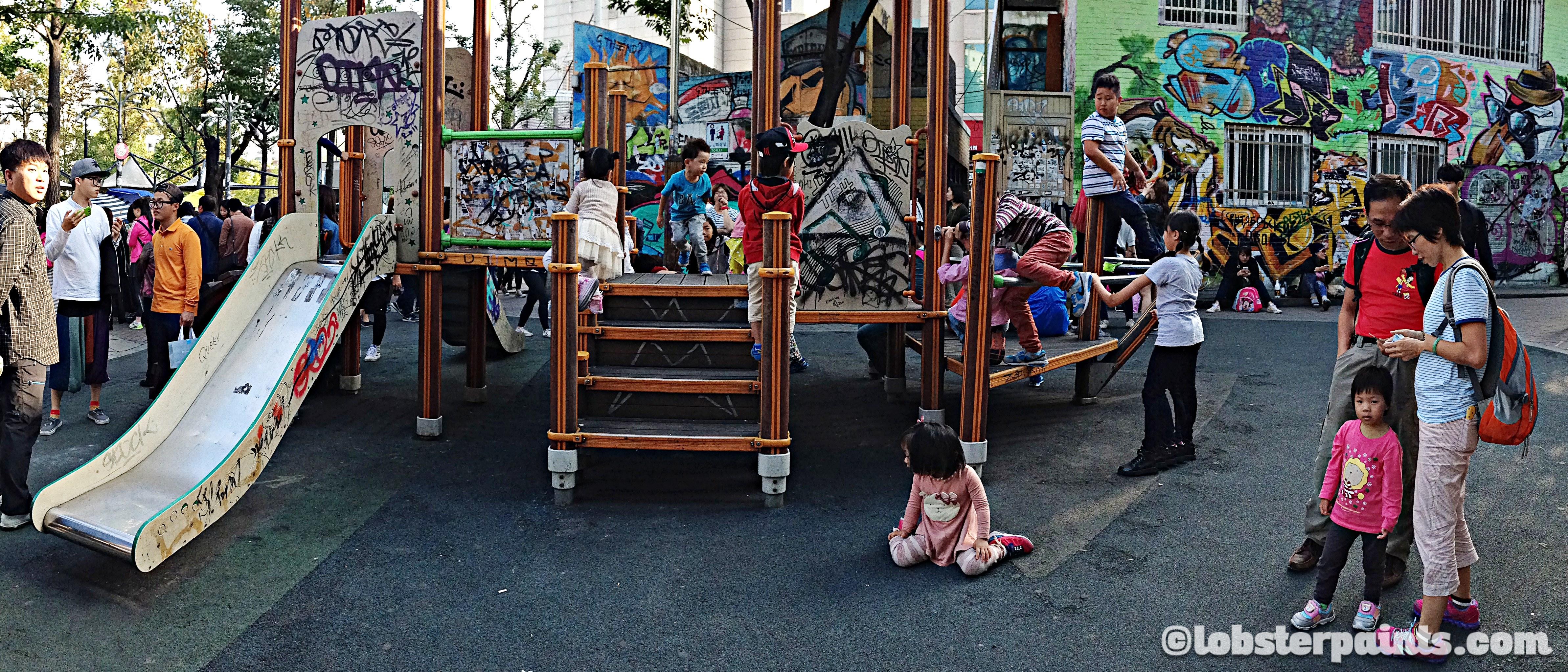 Hongdae Playground | Seoul, South Korea