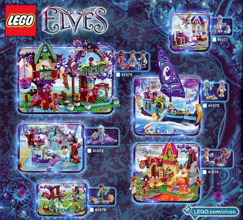LEGO Elves 41074 Azari and the Magical Bakery ins06