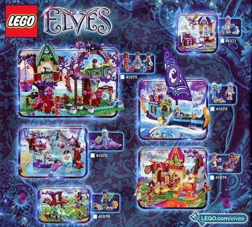 LEGO Elves 41074 Azari and the Magical Bakery ins06