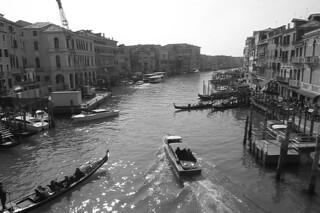 Venice - Rialto Bridge view