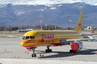 DHL. Boeing 757-236 (SF). G-BIKG.