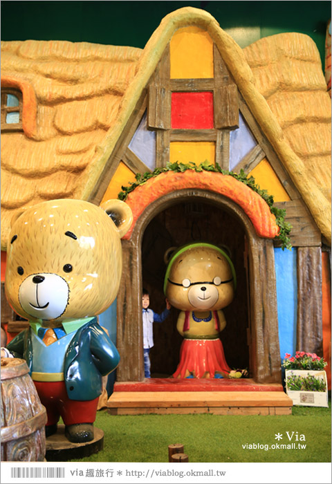 【熊大庄】嘉義民雄熊大庄森林主題園區~新觀光工廠報到!小熊的童話森林真實版19