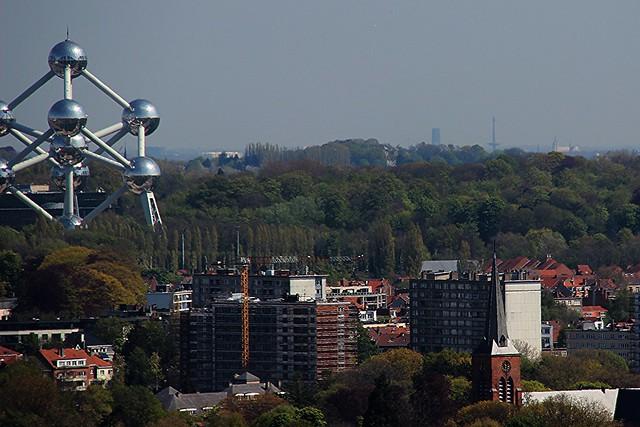Mechelen, gezien vanuit Brussel