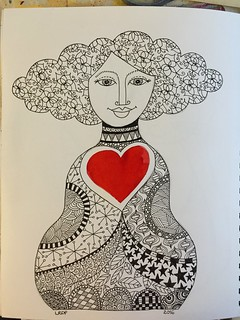 18 - Heart - Doodle