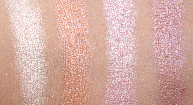 MAC dunes at dusk gleamtones powder swatch