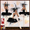 ALB BLACK SWAN costume to classic fitted + SLink
