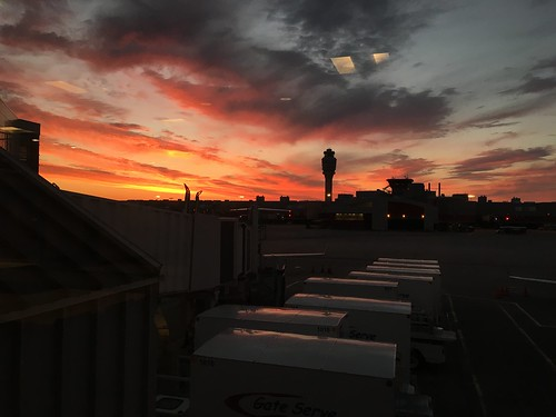 atlanta sunrise atl atlantaga hartsfieldjacksonatlantainternationalairport atlantainternational atlantahartfsfield