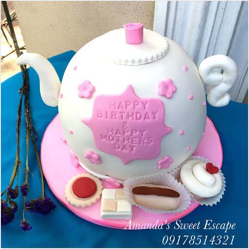 Teapot Cake from Amanda's Sweet Escape by Amanda del Rosario