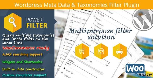 WordPress Meta Data & Taxonomies Filter v2.2.2