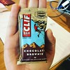 Tiniest Clif bar! Still not sure why this is a thing, but tiny stuff is cool. #mini #clifbar #adorbs