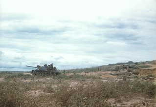 3d Battalion, 4th Marines Tank Position, Convey to Con Thien, July 1967