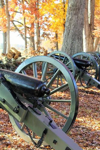 Gettysburg NMP ~ Confederate Avenue cannons