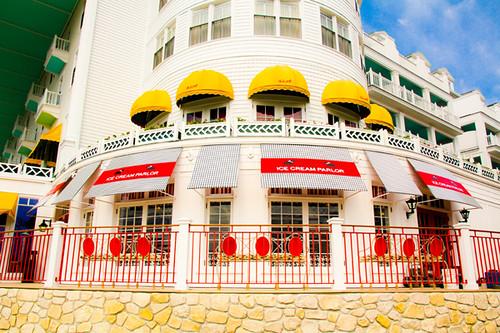 Grand Hotel Mackinac Island Sadies Ice Cream Parlor