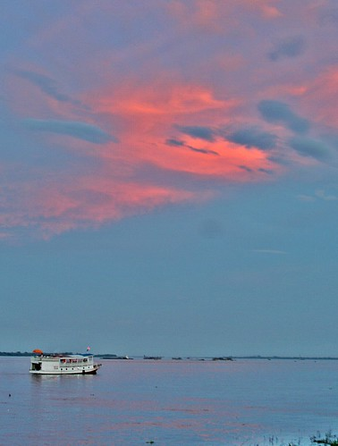 sunset red lake cambodge cambodia phnompenh tonlesap redsunset
