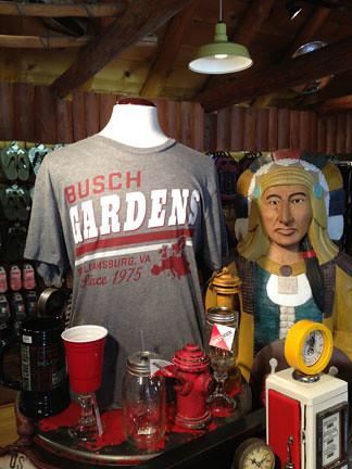 Busch Gardens Sportiqe Apparel