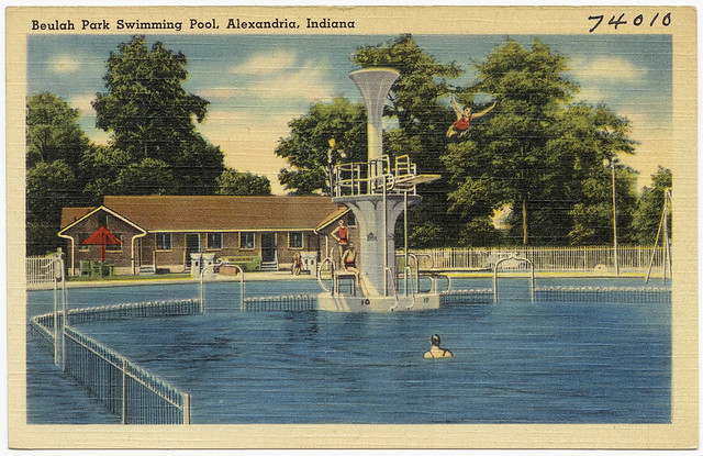 beulah park swimming pool alexandria indiana flickr photo sharing