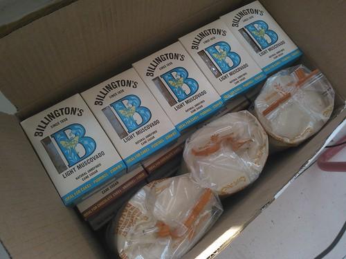 Billingtons unrefined sugar