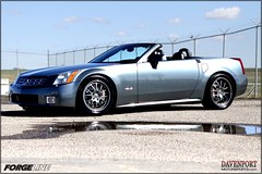 '05 Cadillac XLR on VR3P Wheels