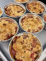 Gluten-Free Rhubarb Crumble!!!