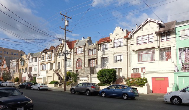 Sixteenth Avenue Richmond District San Francisco