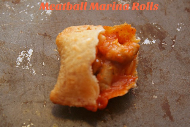 Meatball Marina: New Flavor Pizza Rolls by Tostino's