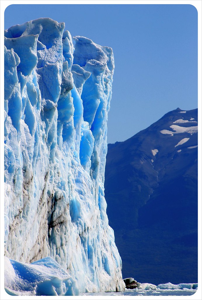 perito moreno glacier a wall of ice