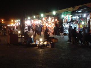 Morocco Marrakech market