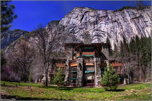 Ahwahnee Hotel Yosemite National Park HDR Explore