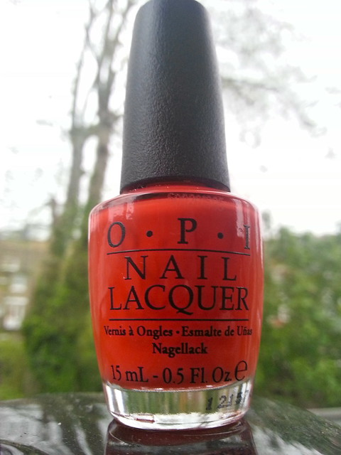 OPI Atomic Orange Nail Polish