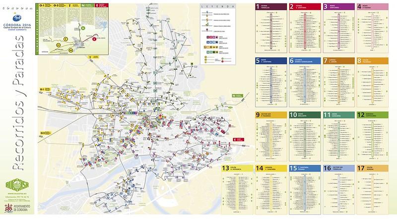 Mapa Transporte Publico Cordova