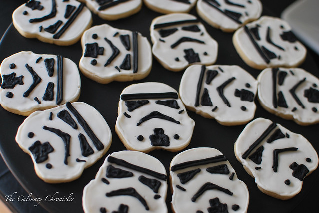 Storm Trooper Sugar Cookies