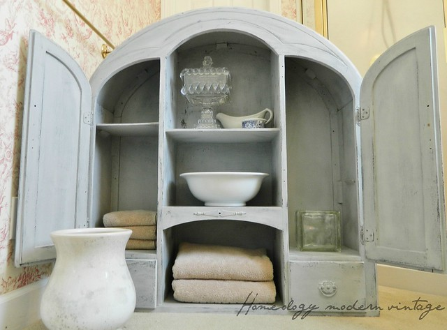 antique furniture as storage
