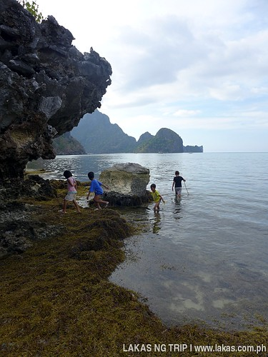 Yaposan Beach in El Nido, Palawan
