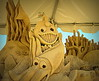 Sand monsters, Mayfest, Trinity Park, Fort Worth, May 4, 2013