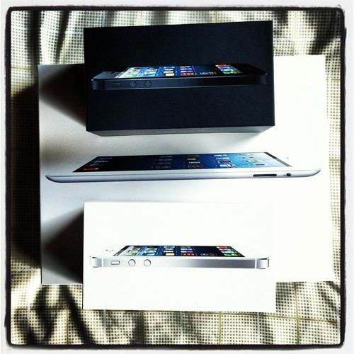 Iphone 5 and iPad 3