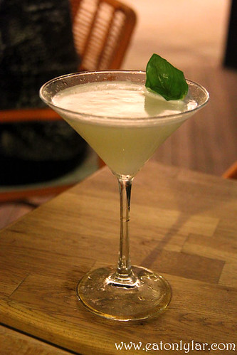 Honeydew Basil Saketini, Table Manners