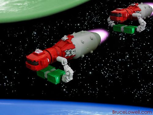 LEGO Cicada Cargo Hauler